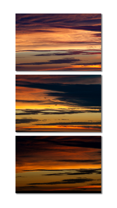 Sunset Triptych – CL