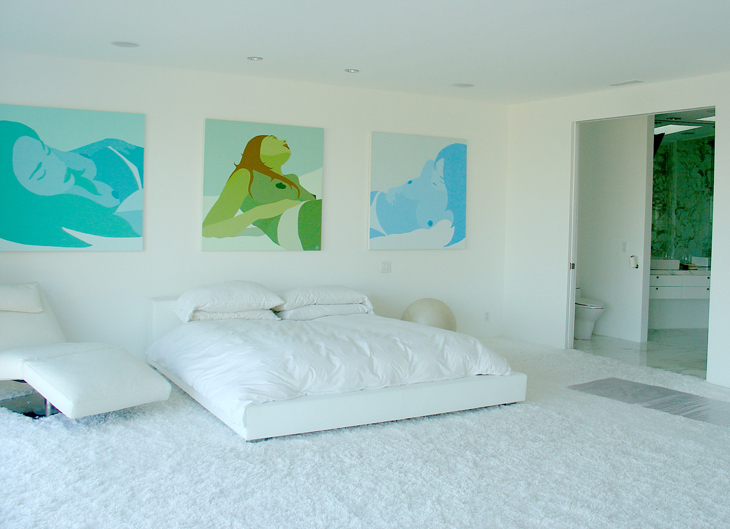 Hollywood Hills – Master Bedroom