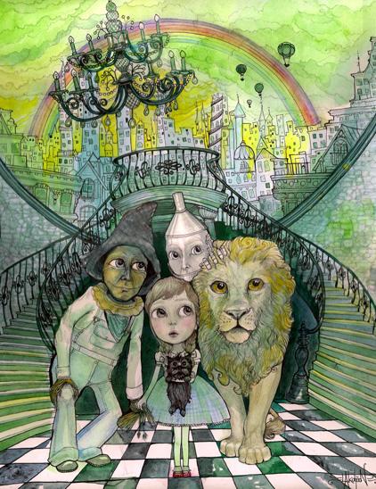 LA – Emerald City of Oz