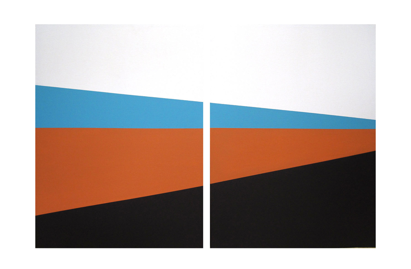 MC – 3 Colors – Diptych – 60×40