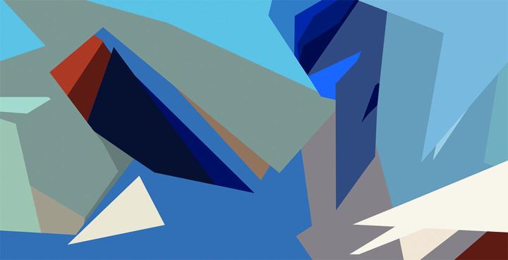 MC – Futurisme – Acrylic on Canvas – 78×43