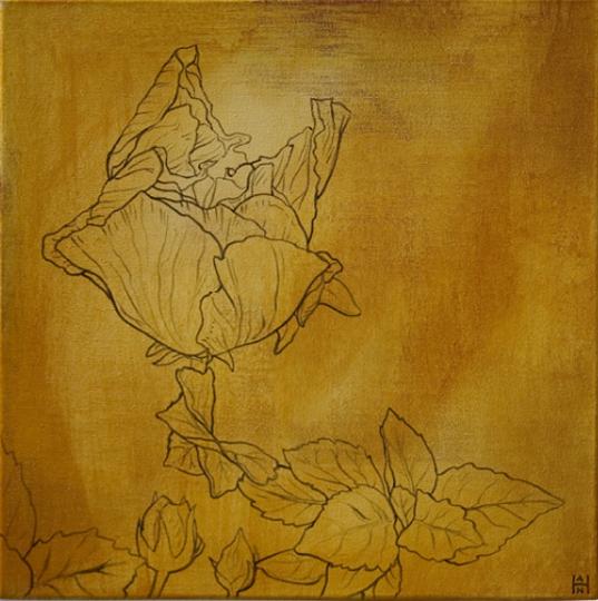 SW – Yellow Hibiscus 1