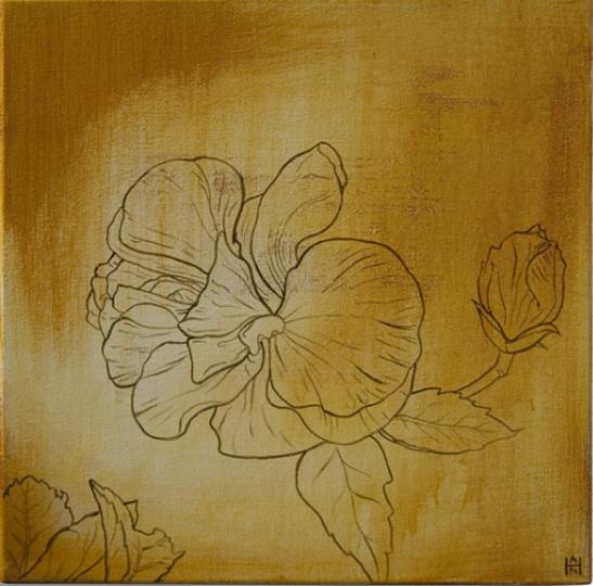 SW – Yellow Hibiscus 2
