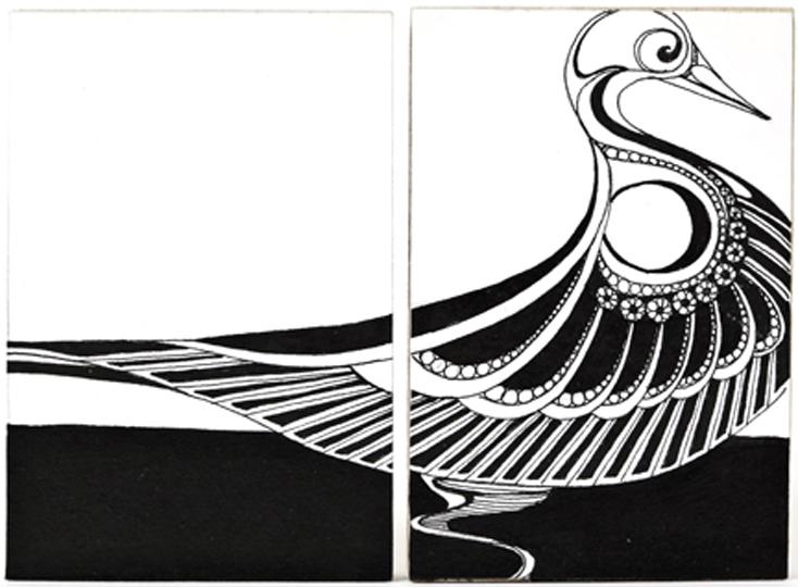 TH – Bird Diptych