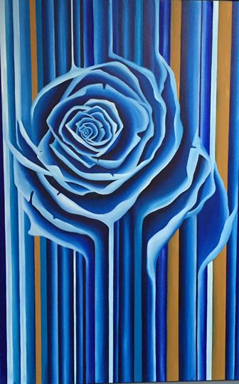 GH – Blue Rose Striped
